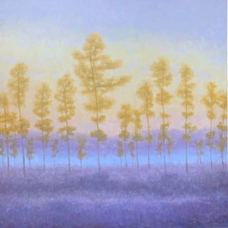 Robert Longley, 'Everglade Dawn', Contemporary Impressionistic Landscape Oil Painting For Sale