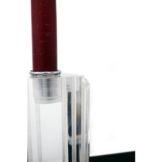 Vintage George Bullitt Tall Lucite Candle Stick Preview