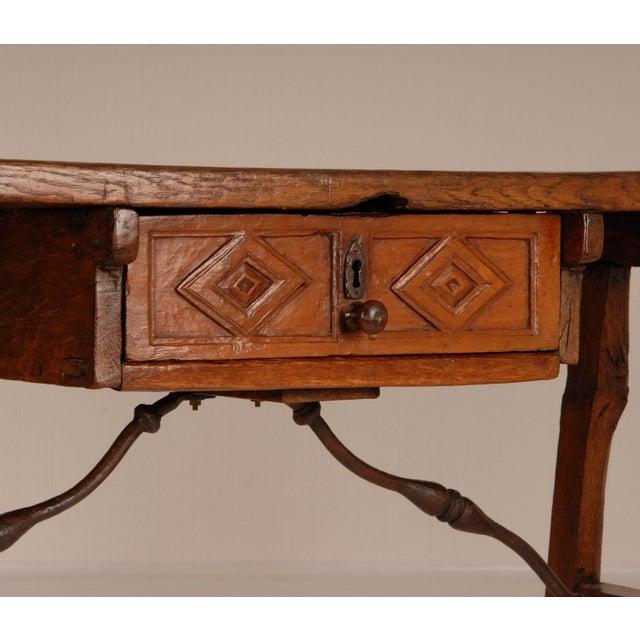 Antique Renaissance Spanish Console Table For Sale - Image 6 of 12
