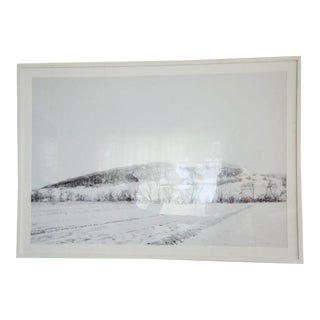 Large Framed Black & White Landscape Photograph