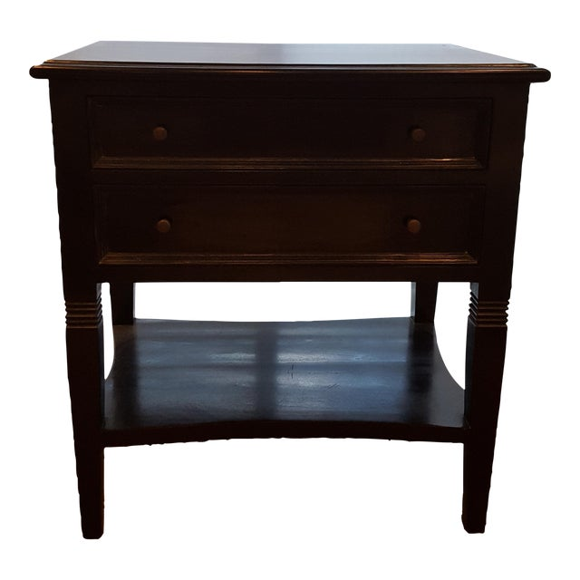 Noir Oxford Side Table For Sale