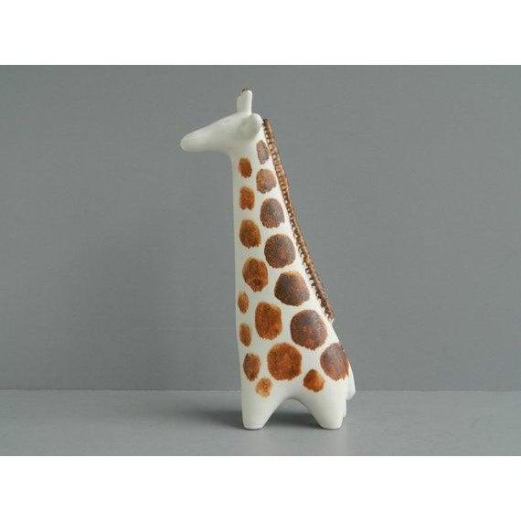 Arabia Vintage Arabia Finland Ceramic Giraffe Figure For Sale - Image 4 of 10