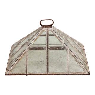 20th Century Iron & Glass Terrarium For Sale