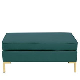 Mystere Peacock Pillowtop Bench With Y Legs Preview