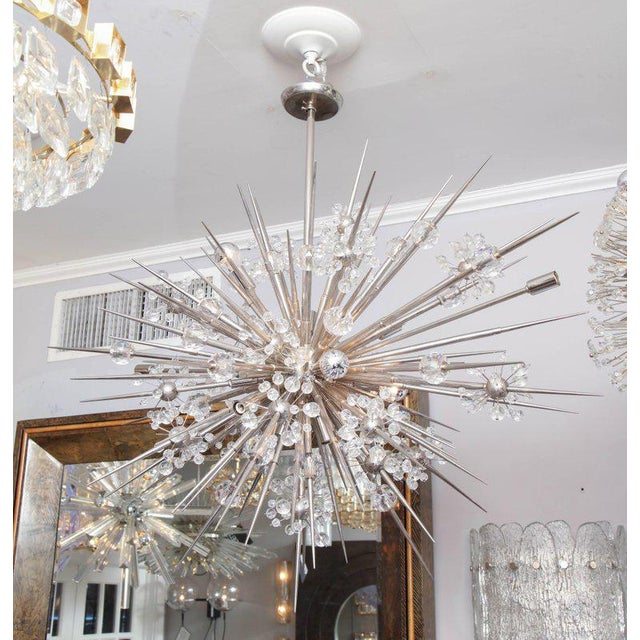 Venfield Custom Austrian Crystal Spiked Sputnik For Sale - Image 4 of 10