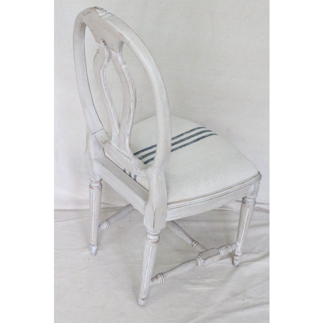 Mid 19th Century Swedish Gustavian Dining Chairs, Set of 6 For Sale - Image 6 of 13