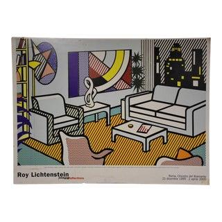 Roy Lichtenstein Modern Poster For Sale