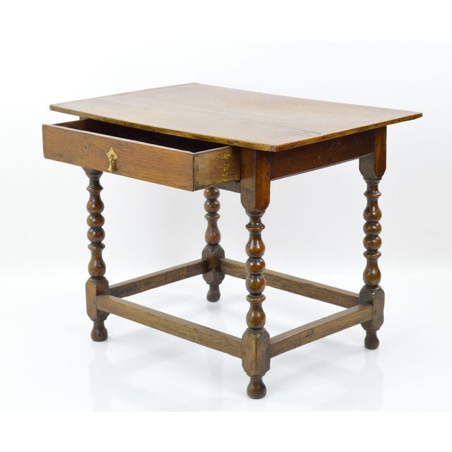 Antique Jacobean Style Tavern Table - Image 3 of 8