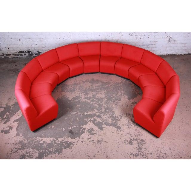 John Mascheroni for Vecta Tappo Modular Sectional Sofa For Sale - Image 10 of 10