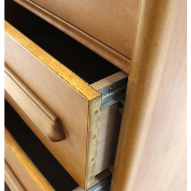 Deep Drawers Heavily Custom Built File Cabinet For Sale In New York - Image 6 of 9