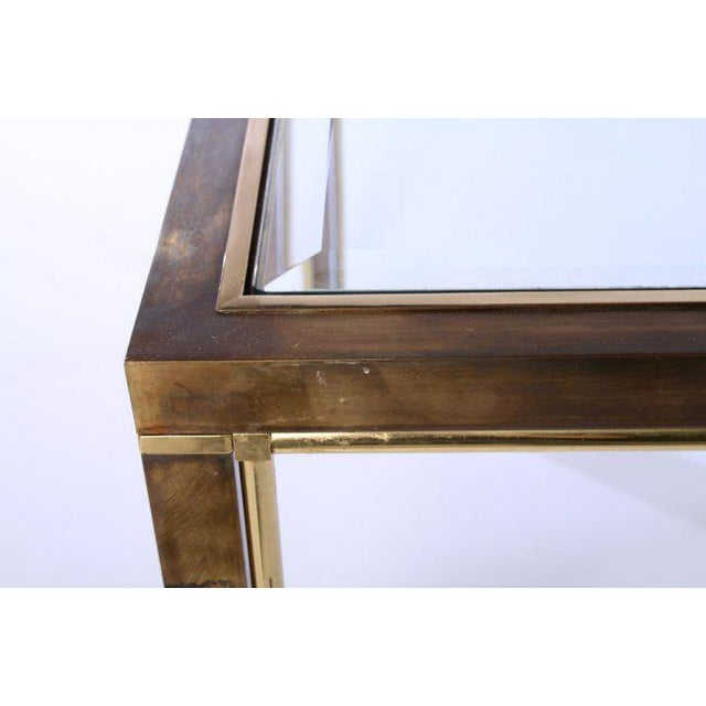 Mastercraft Bronze Dining Table, c. 1970 (no glass, frame only) - Image 4 of 5