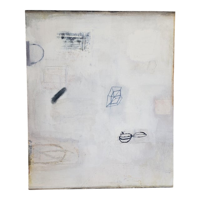 """""""Untitled"""" Robert Kingston Abstract Painting For Sale"""
