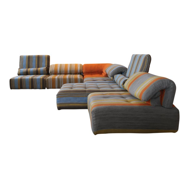 Roche Bobois Voyage Immobile 6 Piece Custom Sectional