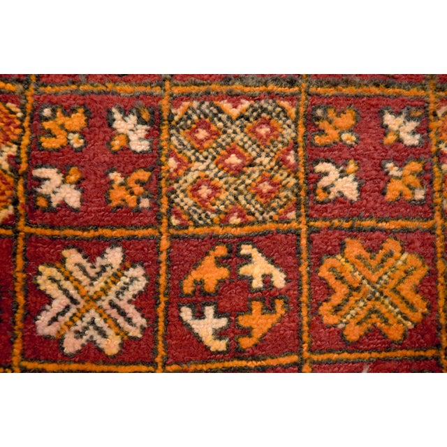 "Textile Vintage Moroccan Boujad Floor Rug Runner - 3'3"" x 8'5"" For Sale - Image 7 of 10"