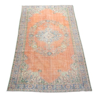 "Turkish Wool Rug-6'2'x10'3"" For Sale"
