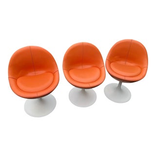 Vintage Mid Century Modern Tulip Chairs- Set of 3 For Sale