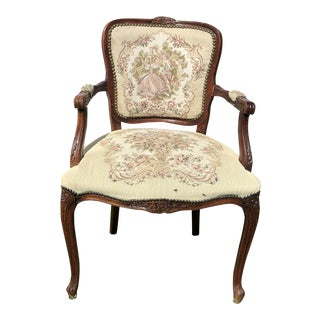 Victorian Style La Danse Du Printemps Fauteuil Armchair For Sale