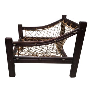 Jacaranda Wood Lounge Chair Frame
