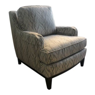 21st Century Modern Smith Brothers Accent Chair For Sale