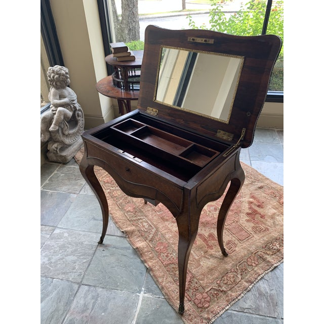 Mid 19th Century 19th Century French Louis XV Style Vanity For Sale - Image 5 of 13