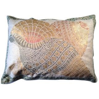 Shells Sateen Linen Pillow Cover For Sale