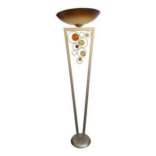 2000s Van Teal Resin Orbs Floor Lamp For Sale