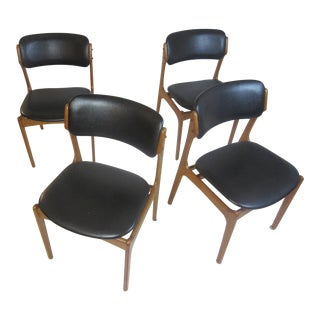 Erik Buch Dining Chairs by Oddense