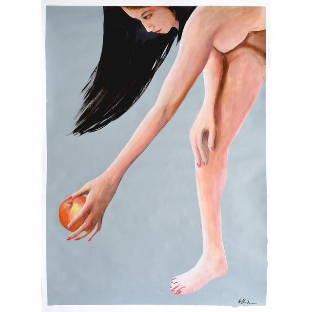 Reach for the Peach Painting - Image 1 of 9