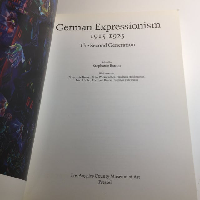 """Expressionism """"German Expressionism 1915-1925"""" Art Book For Sale - Image 3 of 11"""