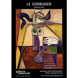 Le Corbusier, Biennale Des Antiquaires, Offset Lithograph, 2016 For Sale