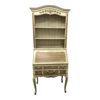 Thomasville Cream Wood Secretary Desk
