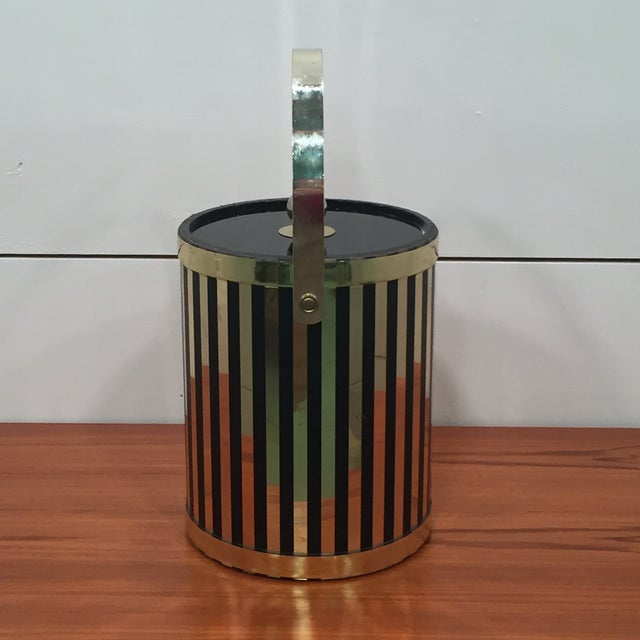 Mid Century Modern Ice Bucket - Image 4 of 7