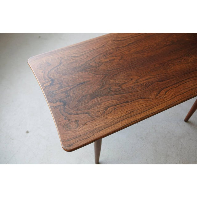 Brown 1960s Vintage Rosewood Coffee Table by Kurt Østervig for Jason Møbler For Sale - Image 8 of 11