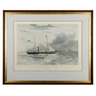 William Adolphus Knell - H.M. Steam Frigate Geyser