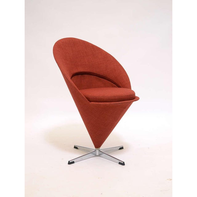 Modern Cone chair by Verner Panton For Sale - Image 3 of 9