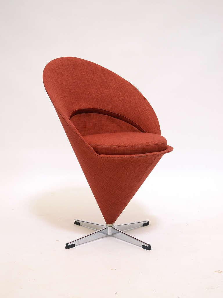 Cone Chair By Verner Panton   Image 3 Of 9