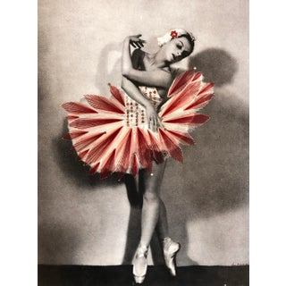 """Dance Red"" Contemporary Embroidery Art by Jose Romussi For Sale"