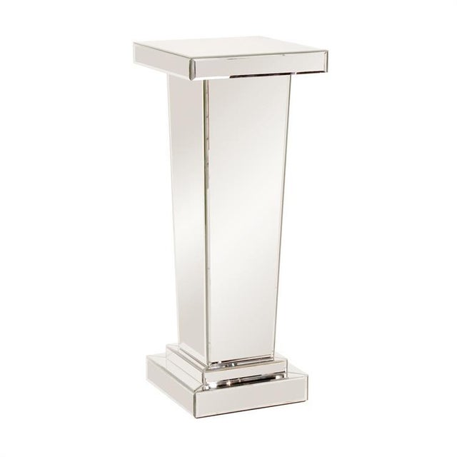 Kenneth Ludwig Chicago The Tapered Mirrored Pedestal For Sale In Chicago - Image 6 of 6