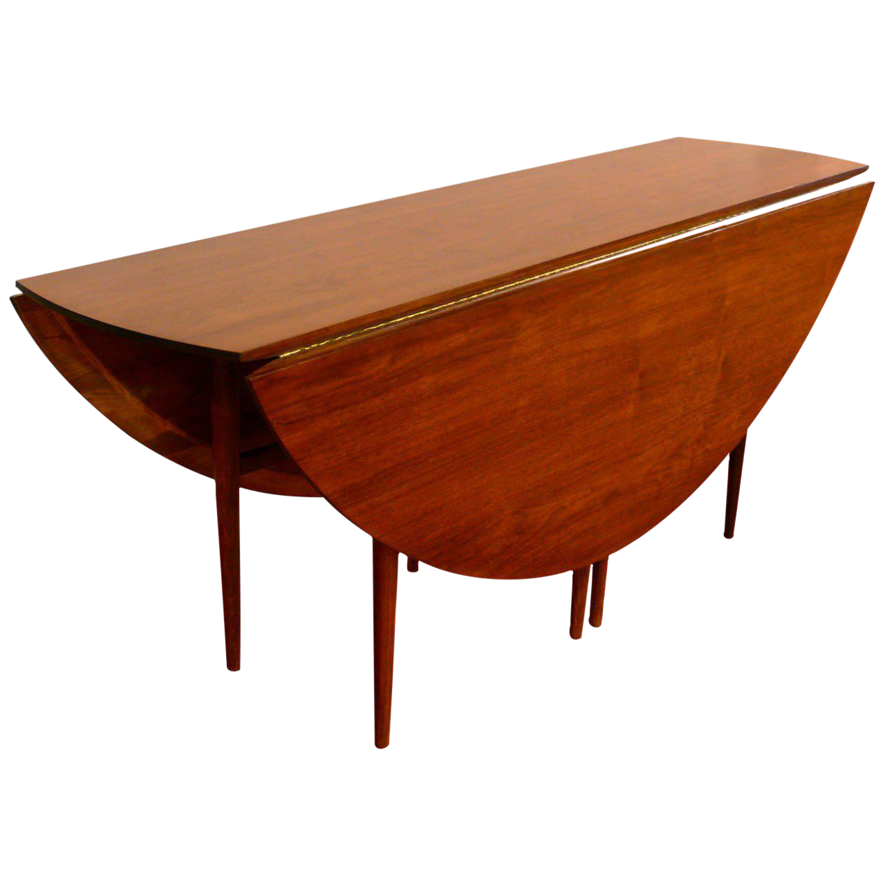 Dunbar Style Walnut Drop Leaf Table   Image 1 Of 1