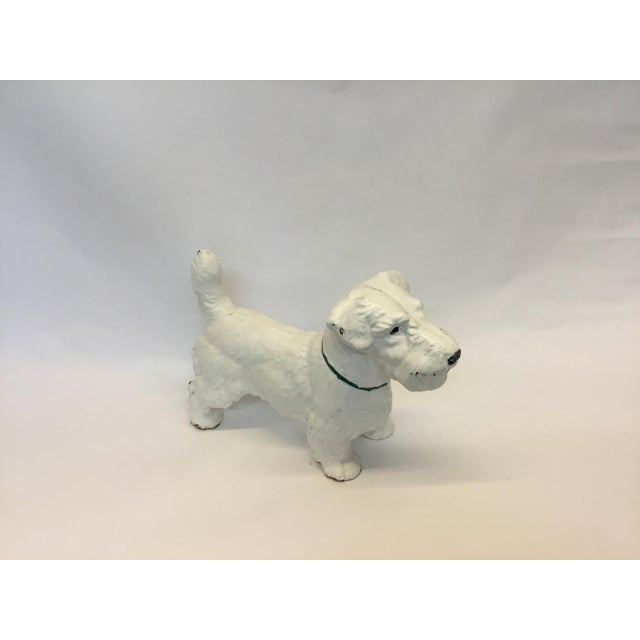Iron Dog Westie Decorative Figurine - Image 3 of 4
