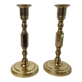 Vintage Baldwin Candle Holders - a Pair For Sale