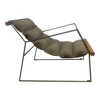 Modern Canvas Sling Chair For Sale