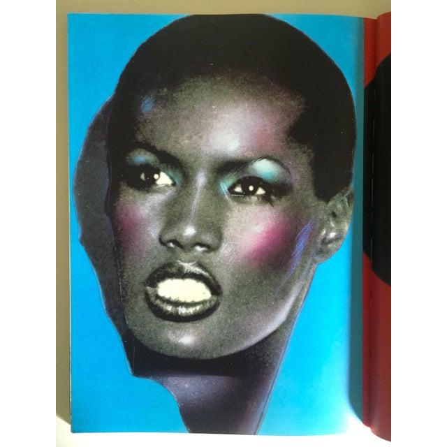 "Paper Richard Bernstein 1984 Rare 1st Edition ""Megastar"" Pop Art Oversized Collector's Book For Sale - Image 7 of 11"