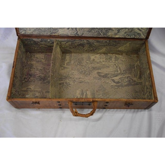 Antique Travel Dome Trunk For Sale In Houston - Image 6 of 13