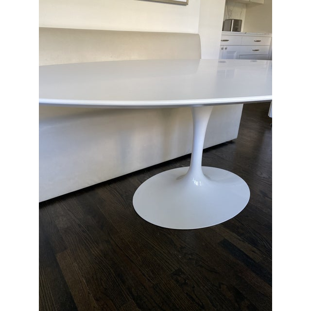 2010s Mid-Century Modern Saarinen Oval Dining Table For Sale - Image 5 of 7