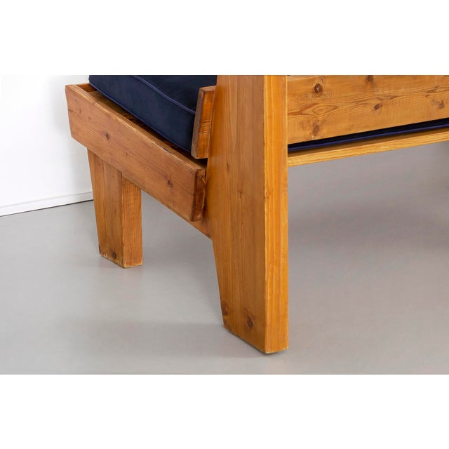 Bench for Marie Blanche Hotel by Charlotte Perriand For Sale - Image 10 of 11