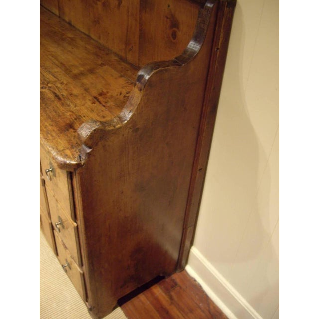 Early 19th Swiss Rustic Kitchen Commode For Sale - Image 9 of 10