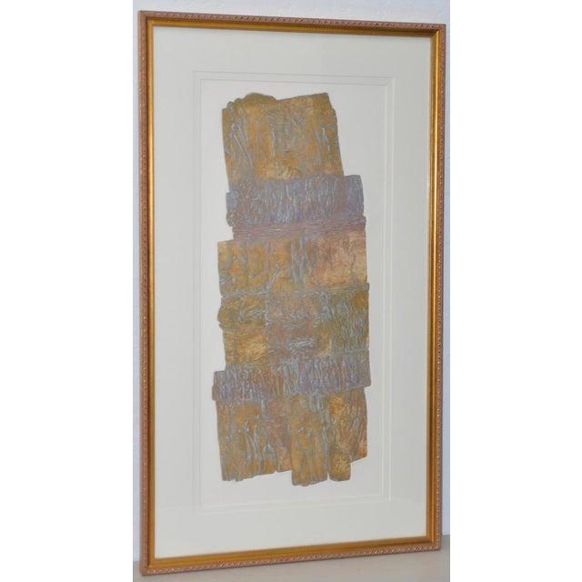 "Janet Jones ""Badlands"" Etching W/ Aquatint C.1983 For Sale - Image 11 of 11"