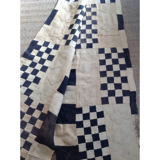 Vintage African Kuba Cloth - Image 5 of 8