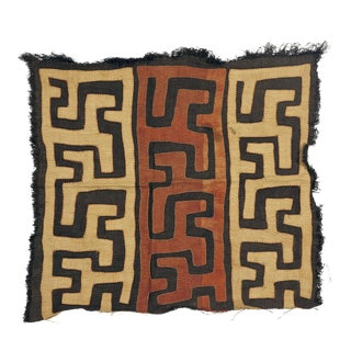Kuba Cloth, Textile From the Kuba Kingdom of Central Africa (10) For Sale